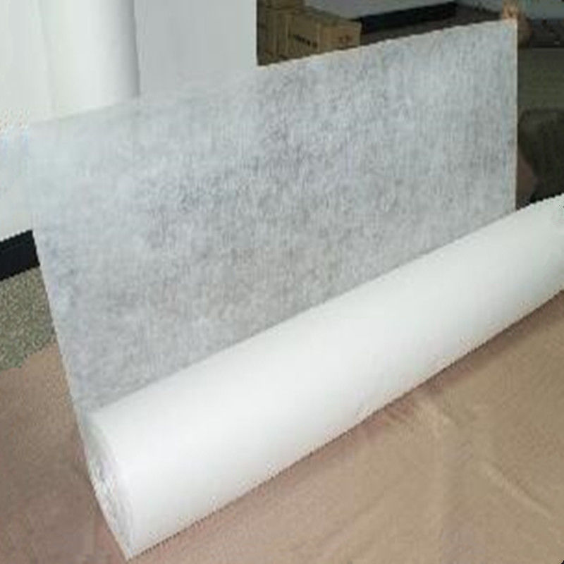 PVA Material Interlining Cold Water Soluble Non Woven nonwoven fabric For Embroidery Backing