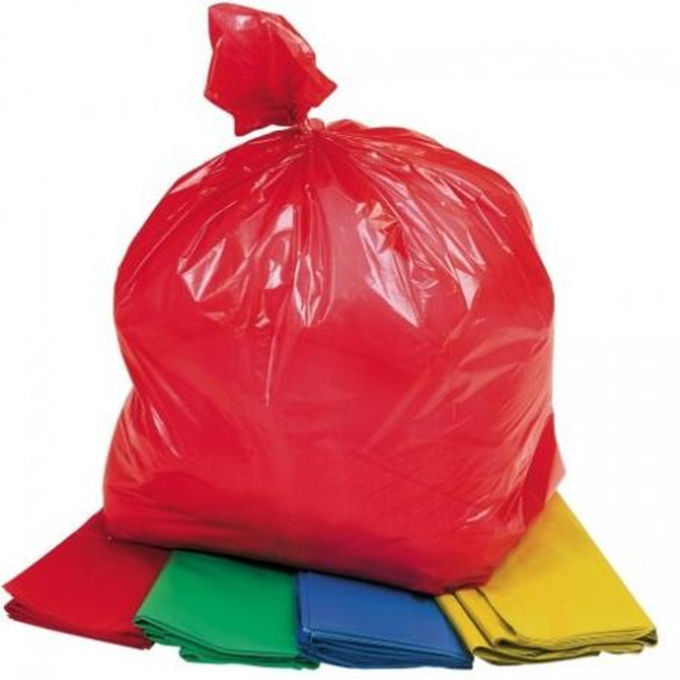 Bolsos de basura plásticos biodegradables modificados para requisitos particulares, coloreados bio - bolso de basura plástico